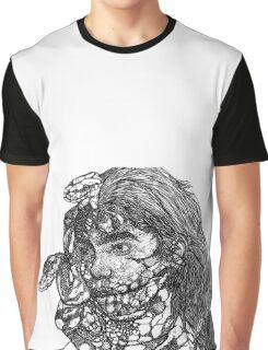 Stippling  Graphic T-Shirt