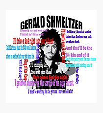 Gerald Shmeltzer Multi Quote Photographic Print