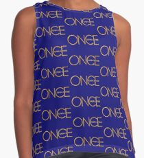 Once Upon A Time - logo Contrast Tank