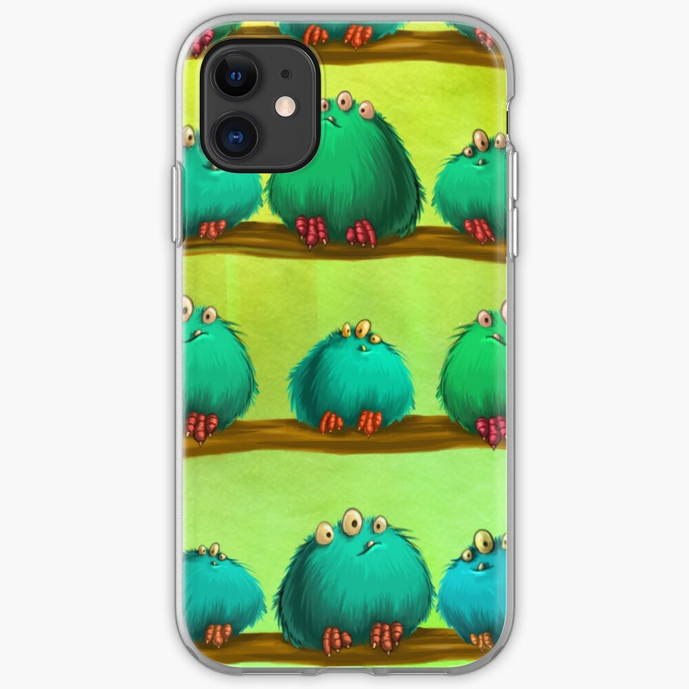 Many Fluffs iPhone Soft Case