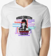Gerald Shmeltzer Multi Quote Mens V-Neck T-Shirt