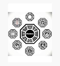 DHARMA Photographic Print