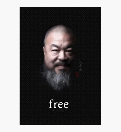 Free Ai Weiwei Photographic Print