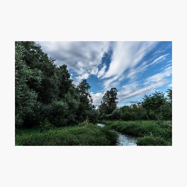 Dynamic landscape Photographic Print