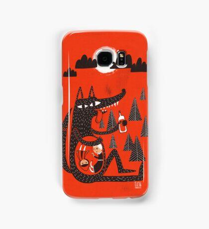 Little Red Riding Hood Samsung Galaxy Case/Skin