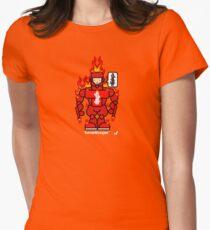 AFR Superheroes #09 - Fumaritrooper Women's Fitted T-Shirt