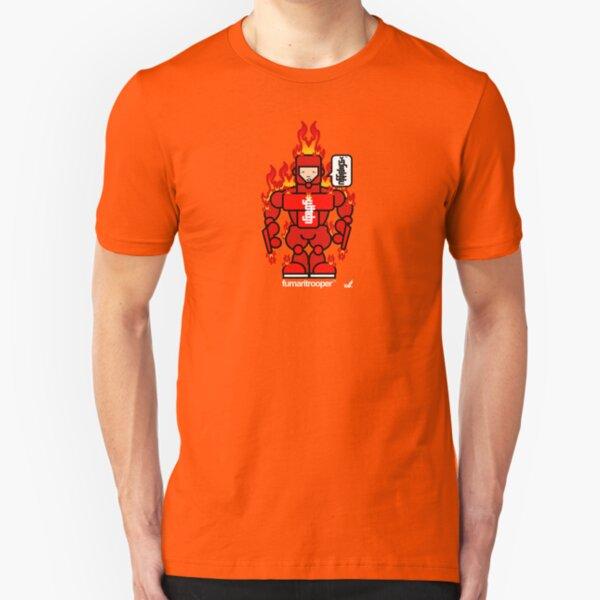 AFR Superheroes #09 - Fumaritrooper Slim Fit T-Shirt