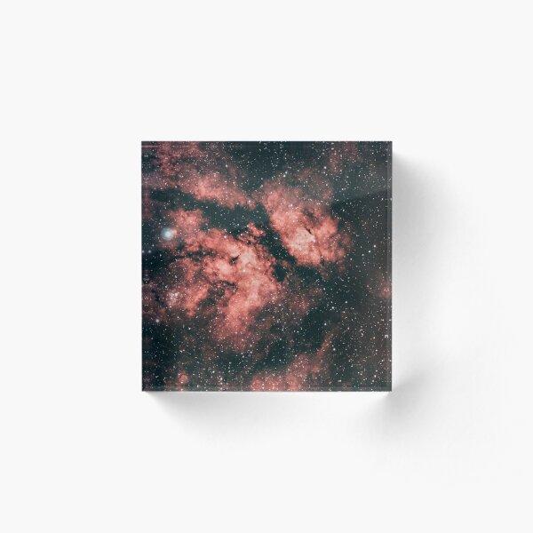 The Butterfly Nebula  Acrylic Block