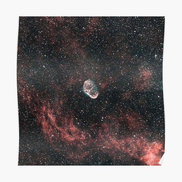 The Crescent Nebula Poster