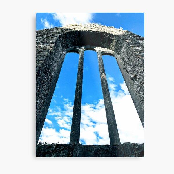 Blue Skies Over Duleek, Ireland Metal Print