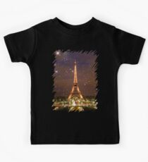 Paris (Tower) Kids Tee