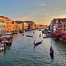Grand Canal - Venice by James Anderson