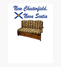 New Chesterfield Nova Scotia  Photographic Print