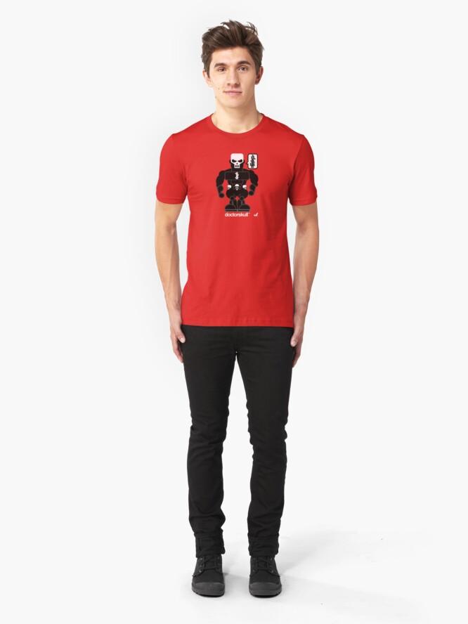 Alternate view of AFR Superheroes #12 - Doctor Skull Slim Fit T-Shirt