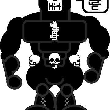 AFR Superheroes #12 - Doctor Skull by afrenasia
