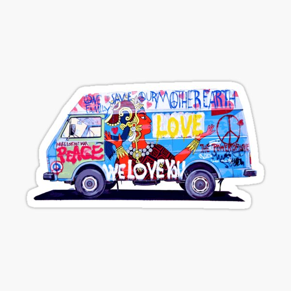 Love Mobil Sticker