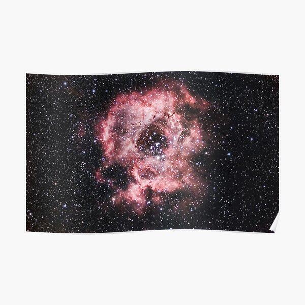 The Rosette Nebula Poster