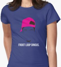 Froot Loop Dingus Women's Fitted T-Shirt