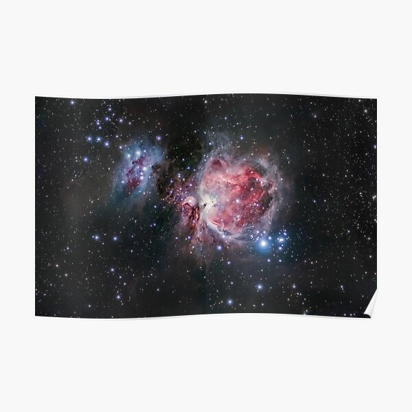 The Orion Nebula  Poster