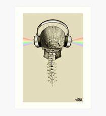 musical remains Art Print
