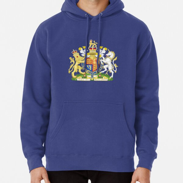Royal Coat of Arms of the United Kingdom Pullover Hoodie