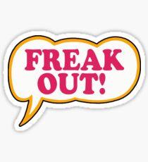 Zappa - Freak Out  Sticker