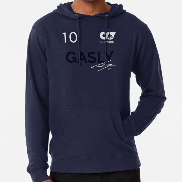 Pierre Gasly - 2021 Navy Signed Customized Lightweight Hoodie