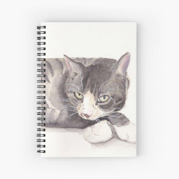 Luna Cat Spiral Notebook