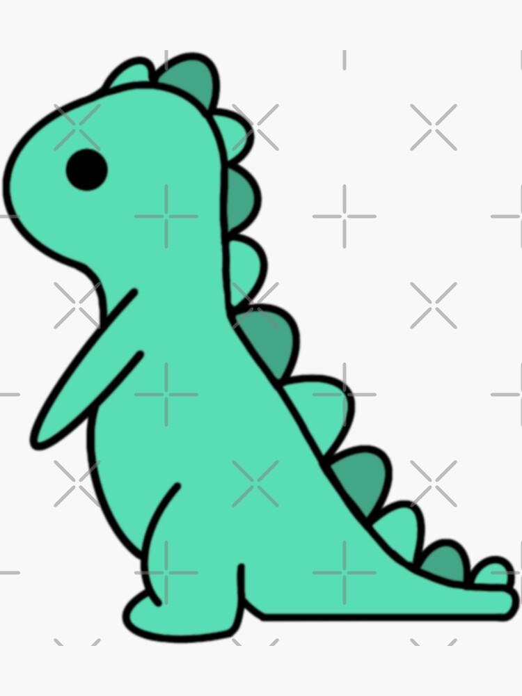 Green Dinosaur by jessicaleah15