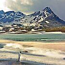 Iced over (Passo Di Gavia - Gavia Pass) by heinrich