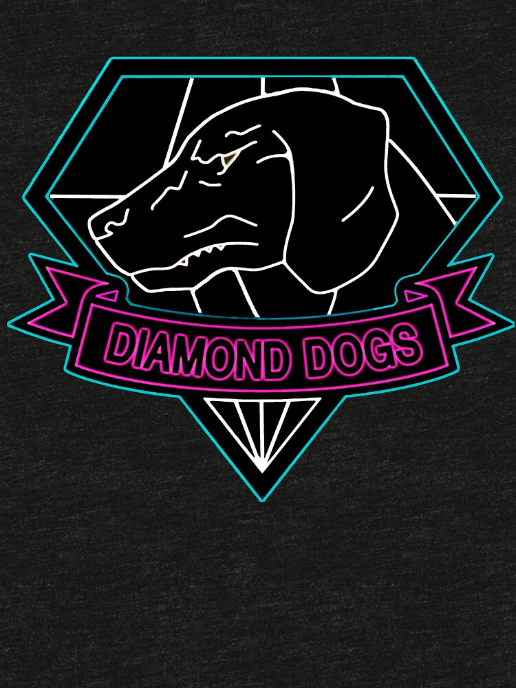 ° METAL GEAR SOLID ° Diamond Dogs Neon Logo by ArtLOGO