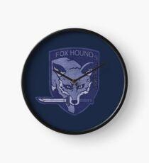 ° METAL GEAR SOLID ° Fox Hound Denim Logo Clock