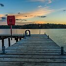 Rossclare Jetty Sunset by Adrian McGlynn