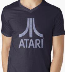 ° GEEK ° Atari Denim Logo Men's V-Neck T-Shirt