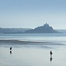 Walking from Penzance to St Michael's Mount by George Crawford