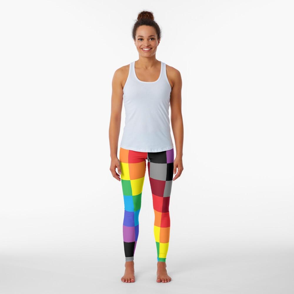 Colored Squares Leggings