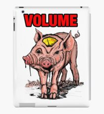 Volume pig iPad Case/Skin