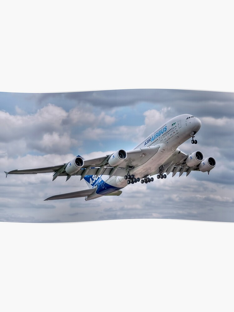 Airbus A380 - Take-Off | Poster