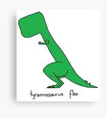 Tyrannosaurus Flex Canvas Print