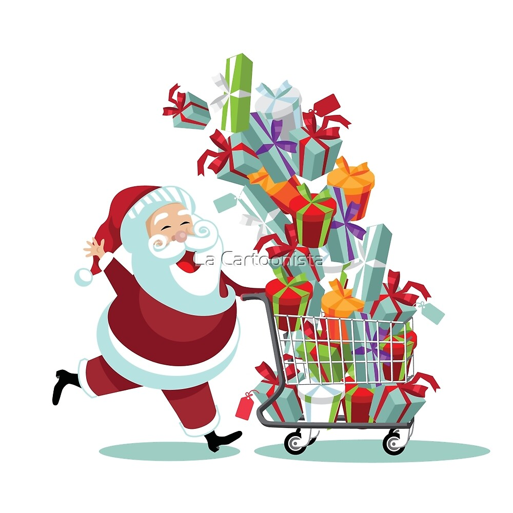 Image result for christmas shopping clipart