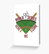World Series Greeting Card