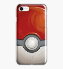 Wartorn Pokeball - Red iPhone Case/Skin