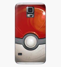 Wartorn Pokeball - Red Case/Skin for Samsung Galaxy