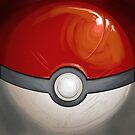 Wartorn Pokeball - Red by Zhivago