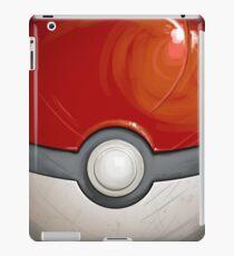 Wartorn Pokeball - Red iPad Case/Skin