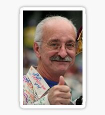 Woodie Flowers is God Sticker