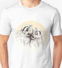 Little Owls cuddling Unisex T-Shirt
