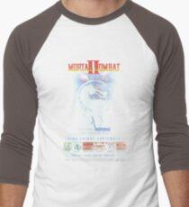 VINTAGE Mortal Kombat II  Men's Baseball ¾ T-Shirt