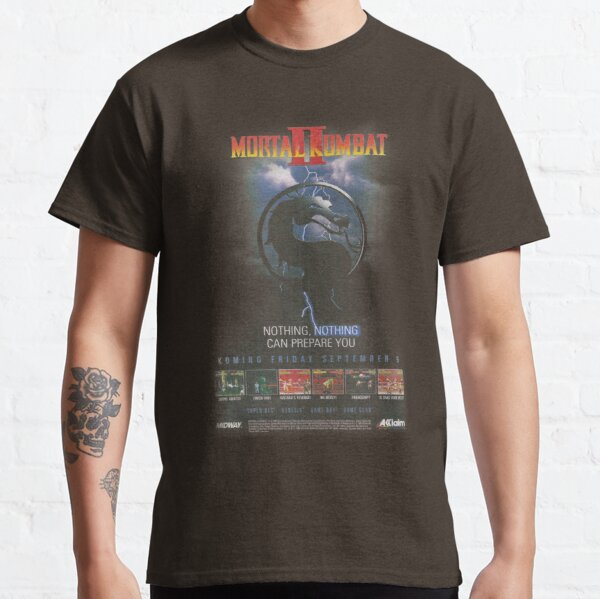 VINTAGE Mortal Kombat II  Classic T-Shirt