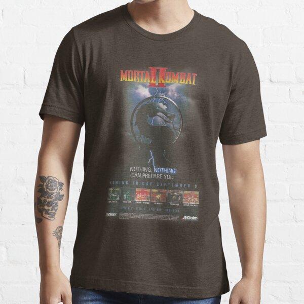VINTAGE Mortal Kombat II T-shirt essentiel